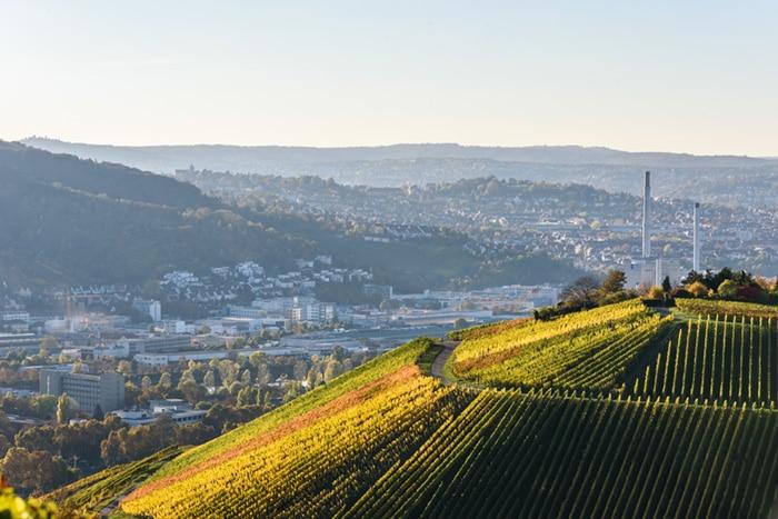Stuttgart in Baden-Württemberg