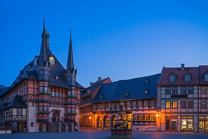 Wernigerode in Sachsen-Anhalt